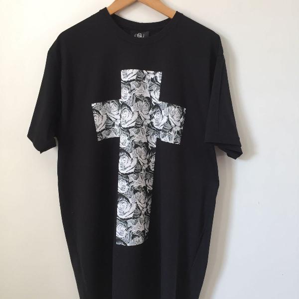 Camiseta longline over surf - g