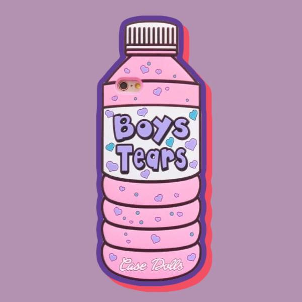 Capinha de silicone 3d boys tears da case dolls p/ iphone 5s