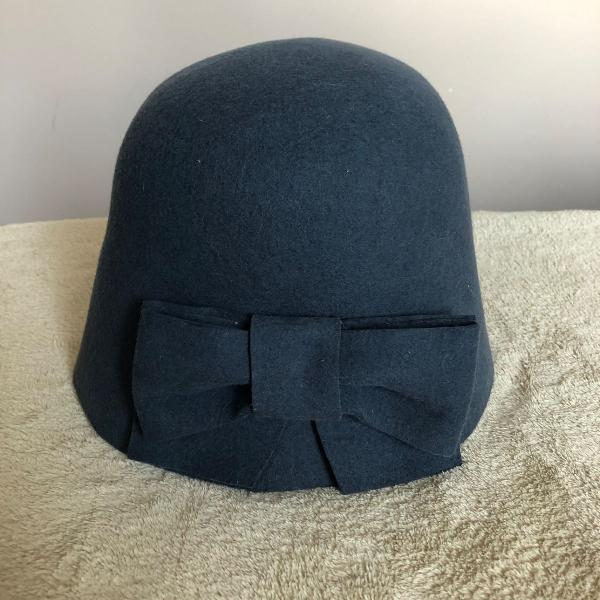 Chapéu lã cinza chumbo pralana