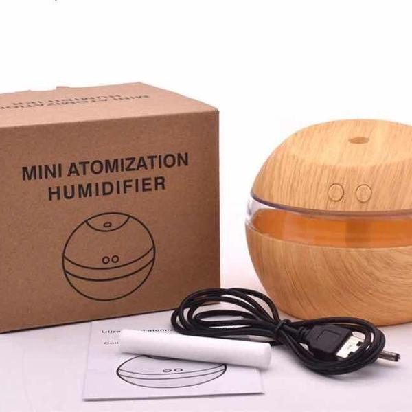 Difusor elétrico aromatizador e umidificador 300ml médio