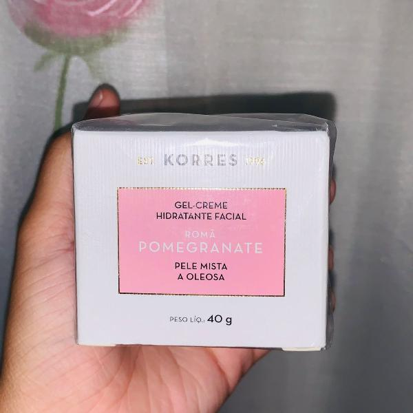 Gel-creme hidratante facial - korres