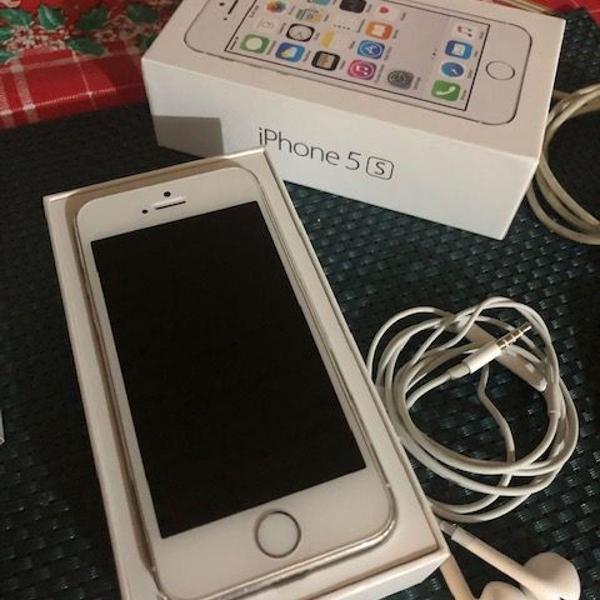 Iphone 5s 16gb - apple + capinha preta