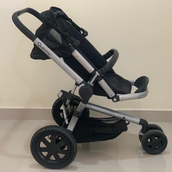 Kit carrinho quinny + bebê conforto maxi cosi + tampa sol