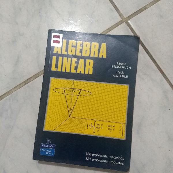 Livro algebra linear.