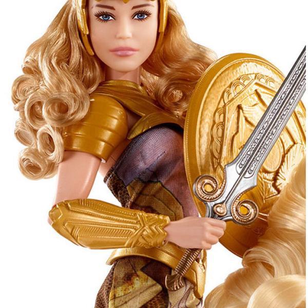 Mattel dc wonder woman queen hippolyta doll & horse