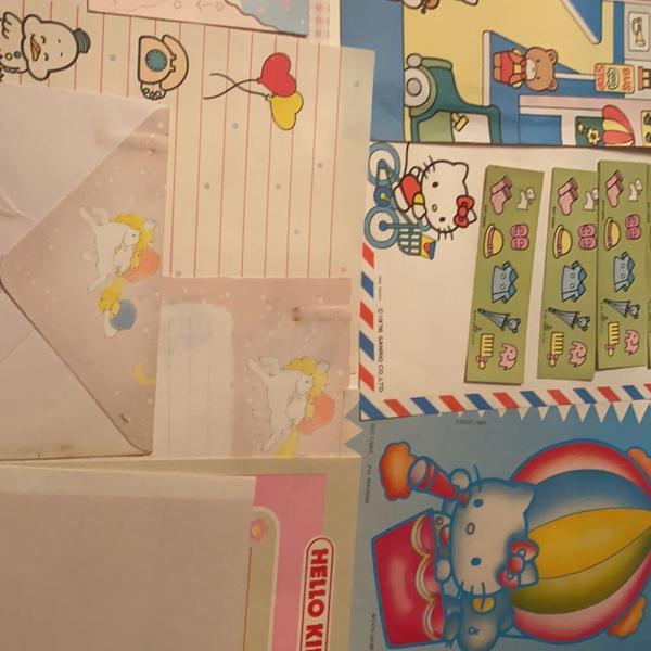 Papeis de carta sanrio