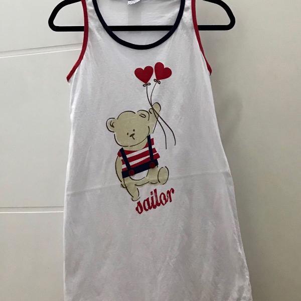 Pijama ursinho sailor