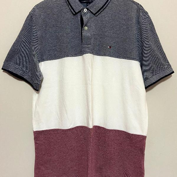 Polo tommy hilfiger 3 cores