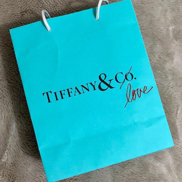 Sacola tiffany & co