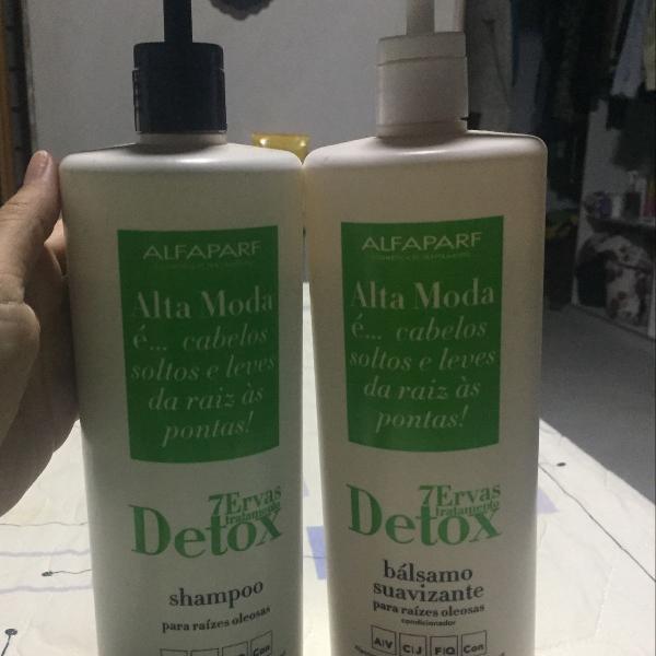 Shampoo e condicionador alecrim alfaparf (profissional)