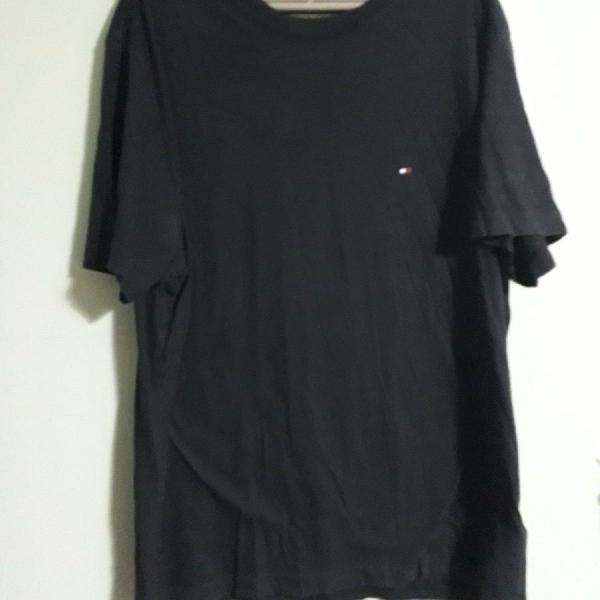 Tommy hilfiger, camiseta azul marinho