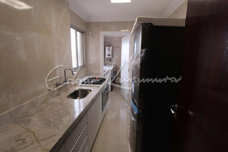 Apartamento 3 dormitórios com suíte e 1 vaga mobiliado e