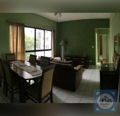 Apartamento com 1 dormitório para alugar, 53 m² por r$