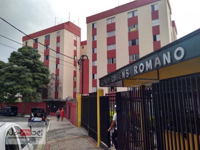 Apartamento com 2 dormitórios para alugar, 48 m² por r$