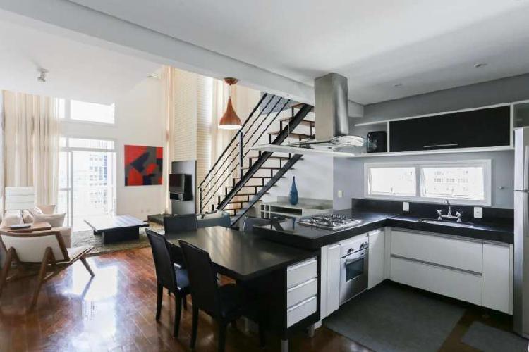 Apartamento para aluguel e venda possui 85 m² com 1 suíte