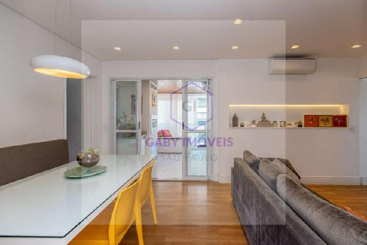 Apartamento para venda com 82 m2, com 3 quartos, jardim