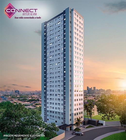 Apartamento para venda tem 39 metros quadrados com 2 quartos