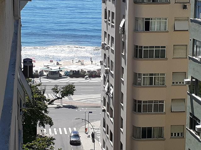 Belissimo apto Copacabana vista mar