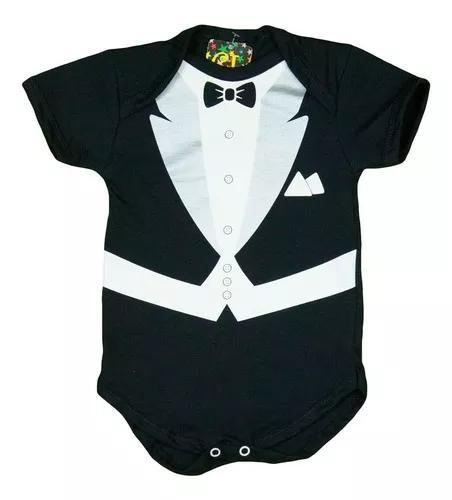 Body bebe smoking/terno 0 a 12 meses - roupa criança