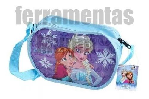 Bolsinha Frozen Bolsa Infantil De Passeio Meninas Ana Elza