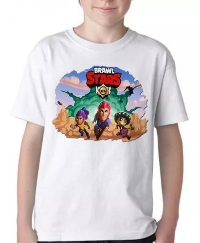 Camiseta blusa infantil brawl stars jogo google play
