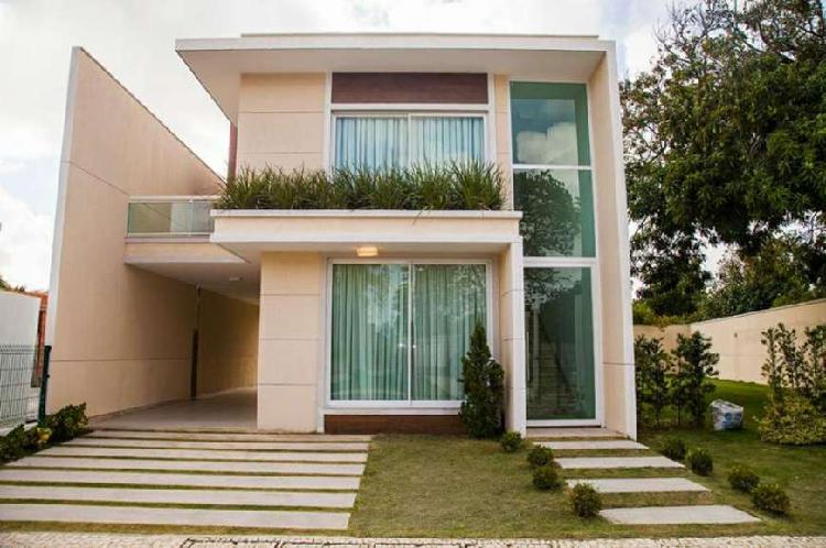 Casas dúplex c/193m², alto padrão, opção da 4ª suíte