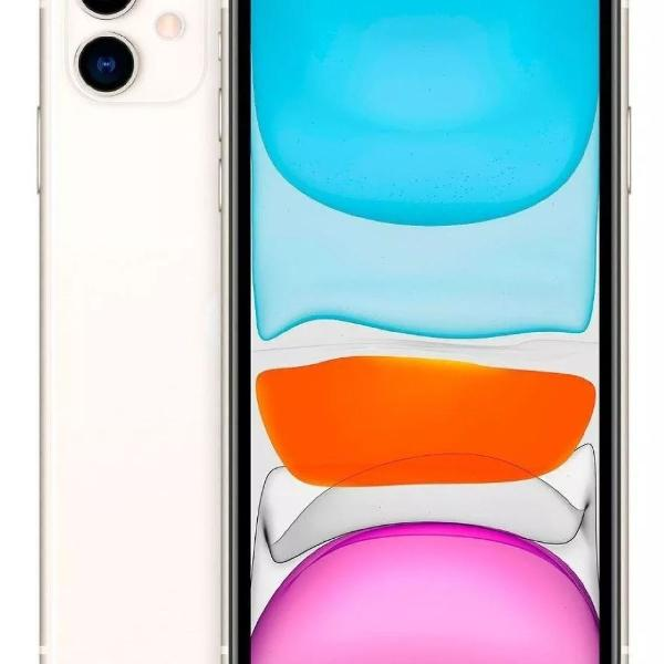 Celular iphone 11 branco 64 gb lacrado