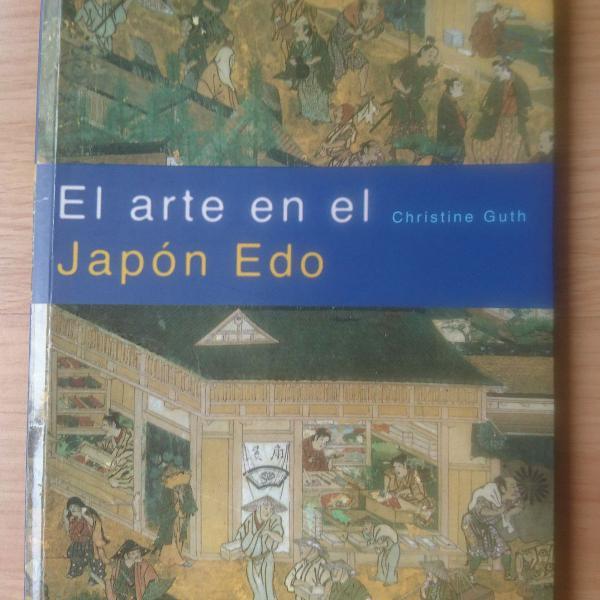 "Livro espanhol: ""el arte el japón edo"""