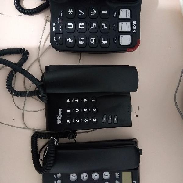 Lote de telefone fixo