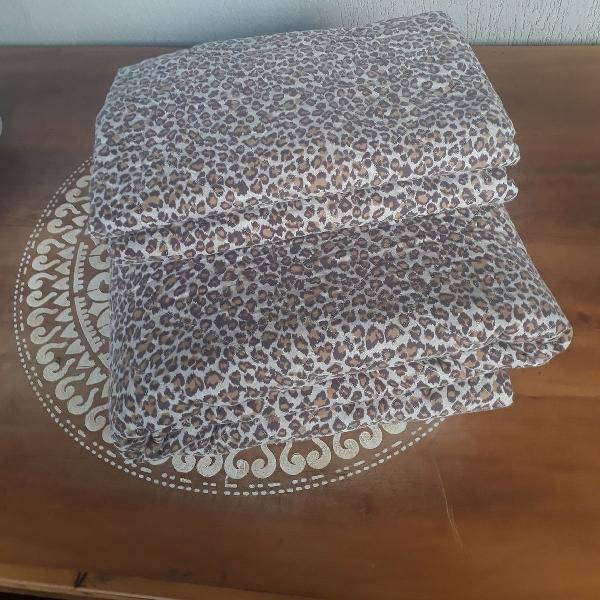 M martan cobre leito queen dupla face 100%algodão