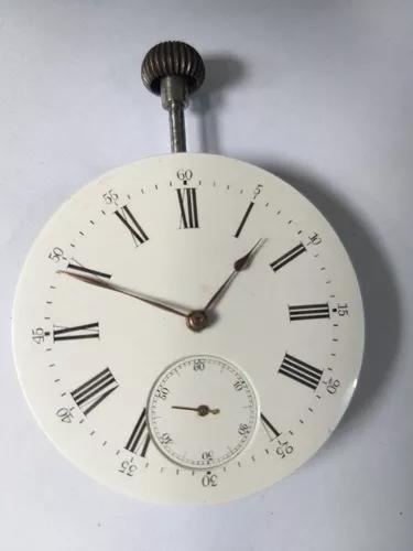 Maquina relógio bolso colecao raridade promocao r$ 199