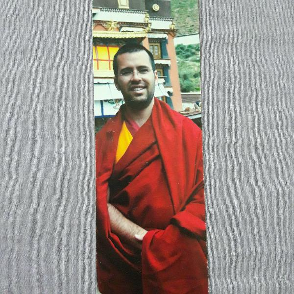 Marcador de página budista lama michel rinpoche 2012