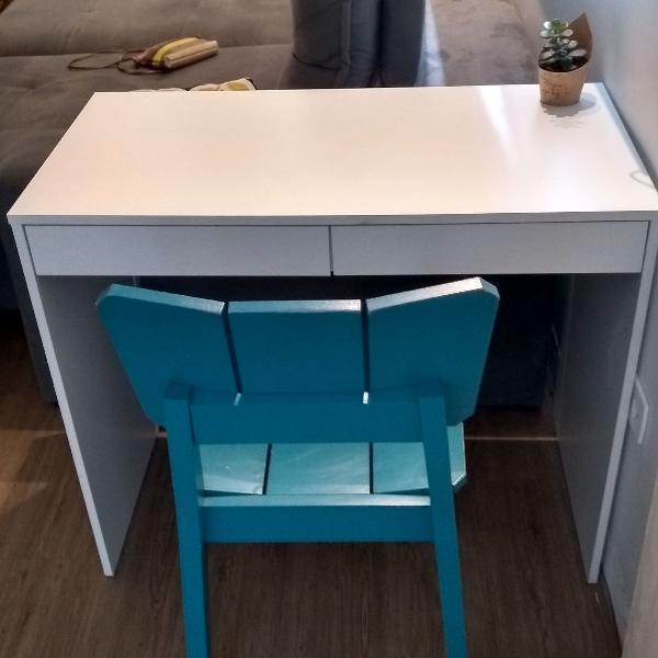 Mesa escrivaninha com cadeira oppa