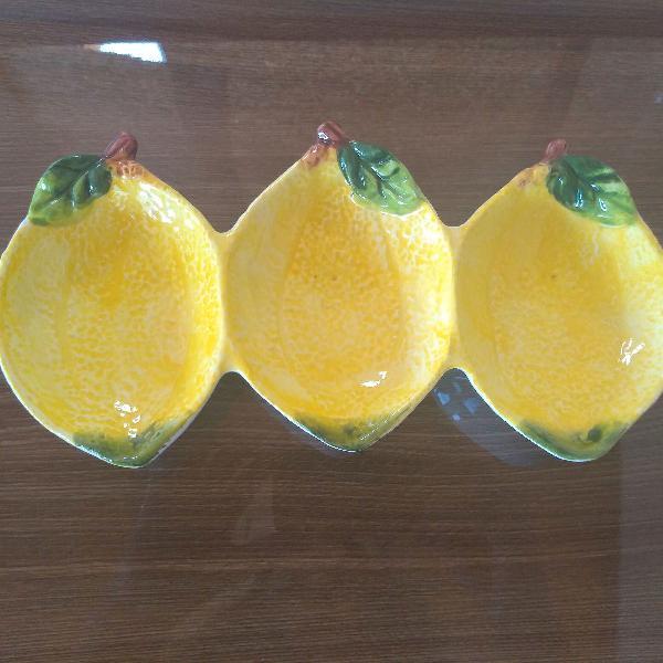 Petisqueira tripla limão siciliano