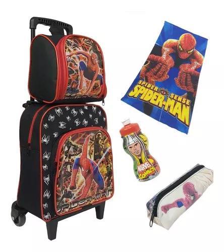 Presente para crianças mochila kit p infantil hom