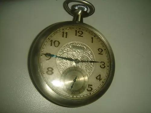 Relógio bolso elgin usa 1929 mostrador diferenciado !