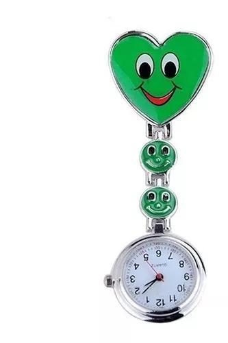 Relógio de bolso lapela medicina enfermag
