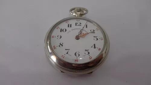 Relógio de bolso suiço marca roskopf