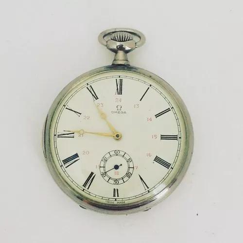 Relógio suiço de bolso omega década de 50