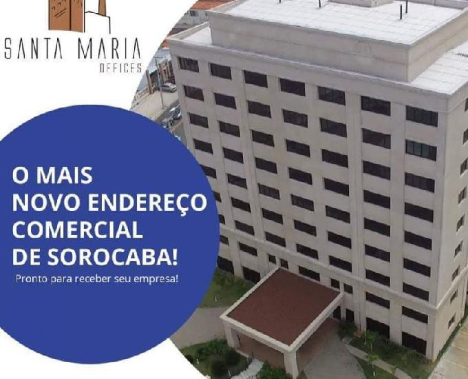 Salas comerciais santa maria offices 35m² nova