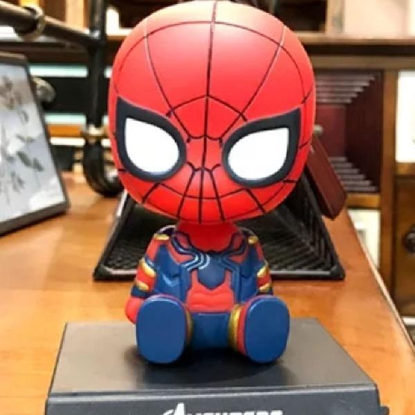 Suporte de mesa para celular - homem aranha