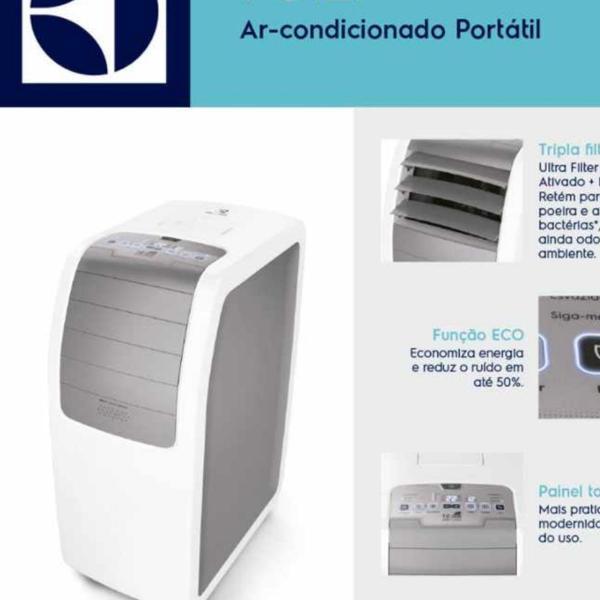 Ar condicionado eletrolux portatil