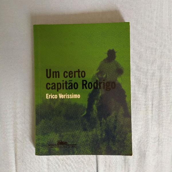 """Entrega inclusa - livro """"um certo capitão rodrigo"""""""