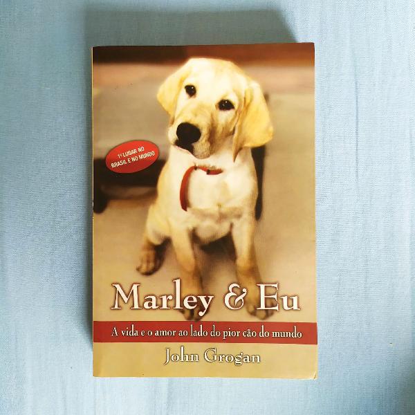 """Frete incluso - livro """"marley & eu"""""""