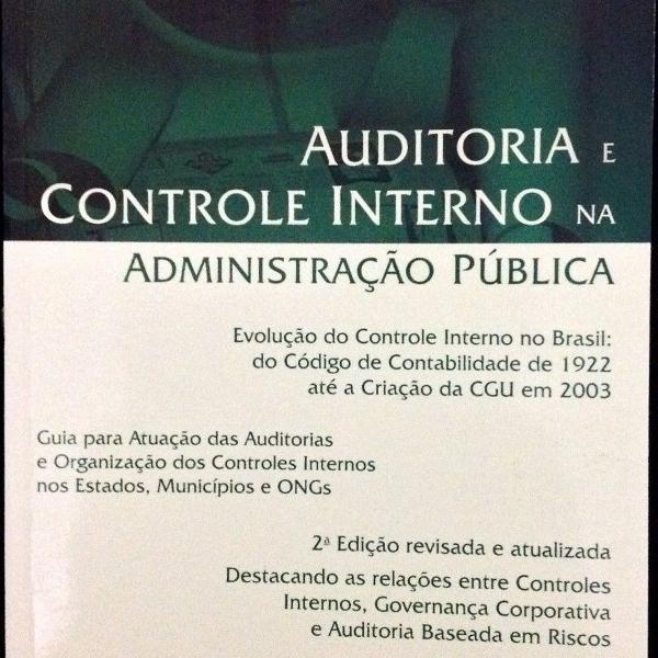 Livro auditoria e controle interno na administração