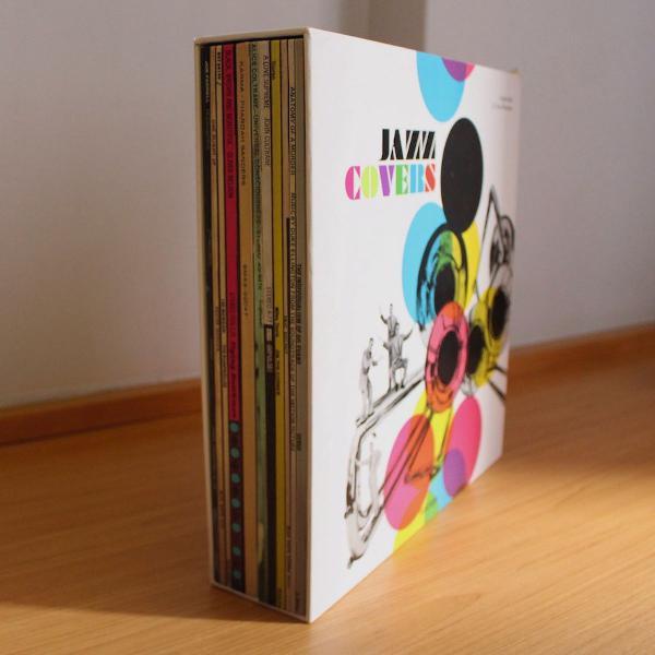 Livro taschen jazz covers - 2 volumes