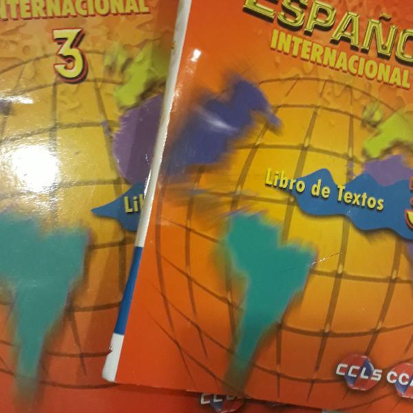 Livros espanhol 3