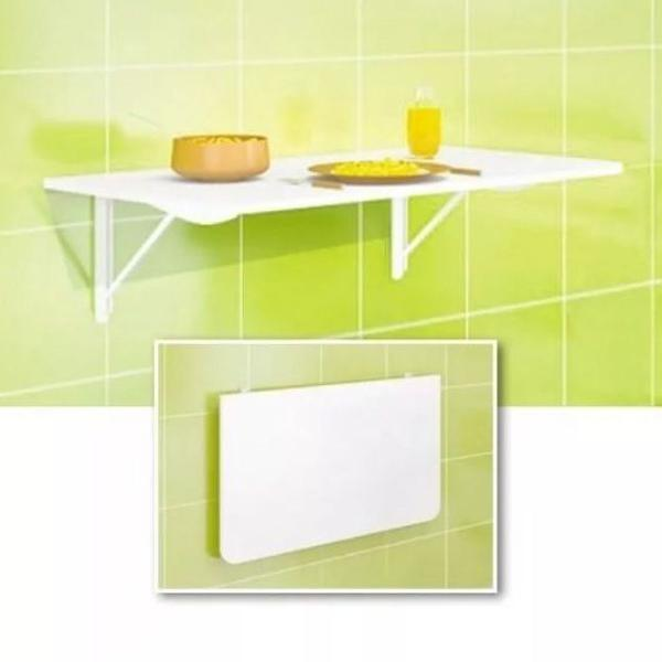 Mesa articulada dobrável para decoração com kit de