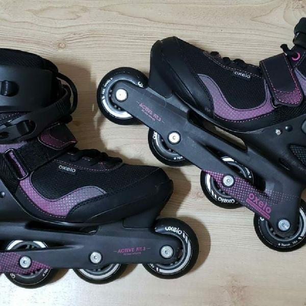 Patins oxelo fit 3