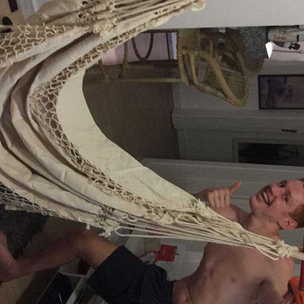 Rede cadeira de balanço